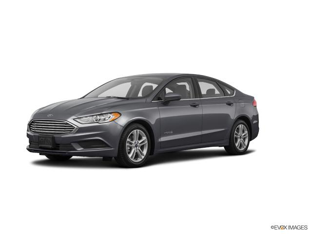 2018 Ford Fusion Hybrid Vehicle Photo in Neenah, WI 54956