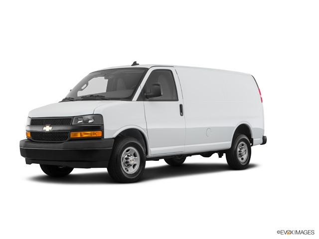 riverhead summit white 2018 chevrolet express cargo van used for