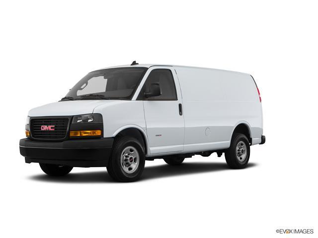 New White 2018 Gmc Savana Cargo Van 2500 Regular Wheelbase Rear