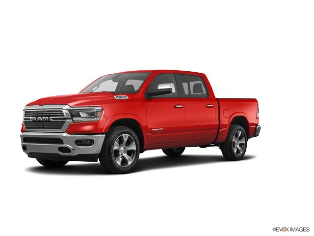 Flame Red Clearcoat 2019 Ram 1500 Rebel 4x4 Crew Cab 5 7