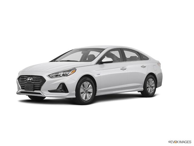 2018 Hyundai Sonata Hybrid Vehicle Photo in Merrillville, IN 46410