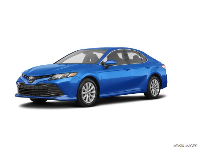 Blue 2019 Toyota Camry For Sale At Bergstrom Automotive Vin