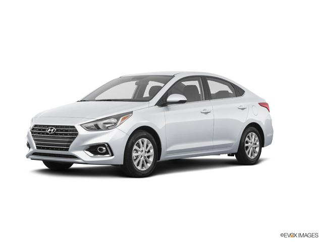 Bentonville Frost White Pearl 2019 Hyundai Accent New For Sale