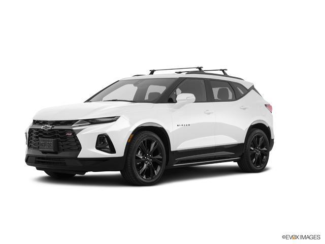 New 2019 White Chevrolet Blazer For Sale in Fayetteville, NC - Powers Swain Chevrolet VIN ...