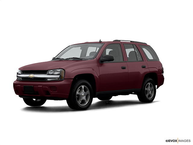 2007 Chevrolet Trailblazer 4wd 4dr Ls Red For Sale 36369t