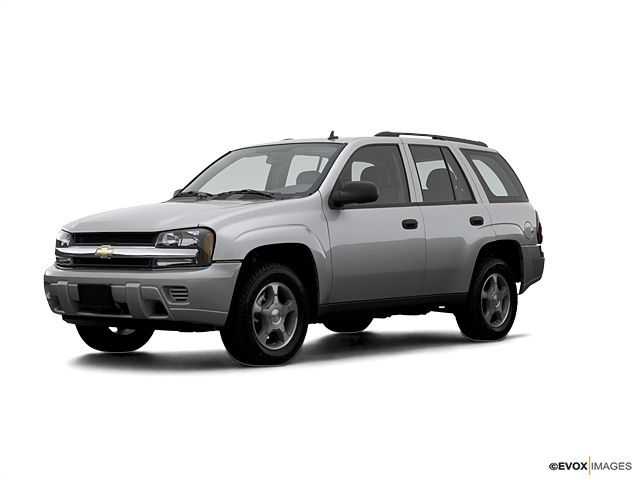 Certified 2007 Chevrolet TrailBlazer 4WD 4dr LT silverstone metallic exterior ebony interior 4-sp