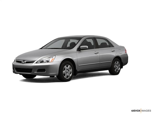 Certified 2007 Honda Accord Sedan LX AUTO alabaster silver metallic exterior gray interior 11873