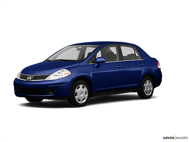 2007 Blue Onyx Metallic 4dr Sdn I4 Cvt 18 Sl Nissan Versa For Sale