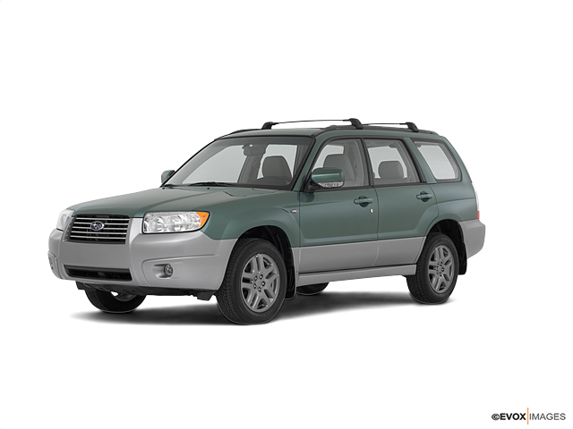 2008 Subaru Forester Vehicle Photo in Colorado Springs, CO 80920