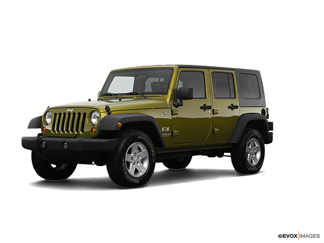 2008 Jeep Wrangler Unlimited Sahara In Rescue Green Metallic For