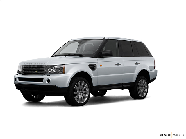 2008 Land Rover Range Rover Sport Vehicle Photo in Charlotte, NC 28227
