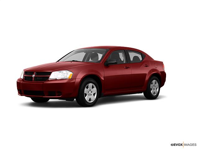 Sterling Red 2010 Dodge Avenger Used Car For Sale San139177