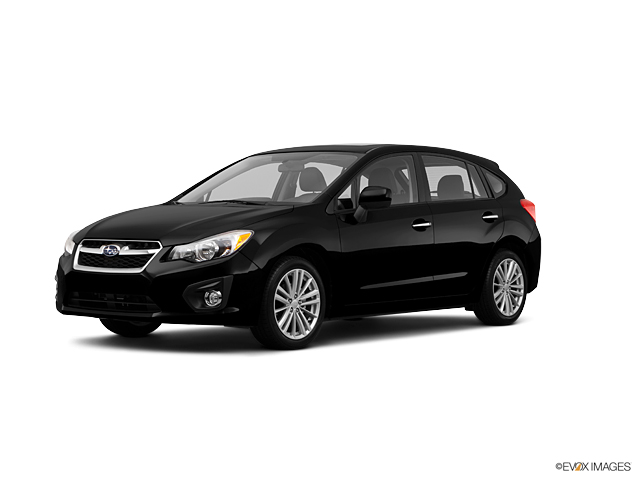 2012 Subaru Impreza Wagon 20i Limited 5 Door Automatic Obsidian