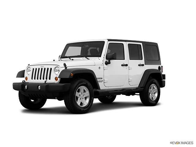 Used Car 2013 Bright White Jeep Wrangler Unlimited Sport For Sale in