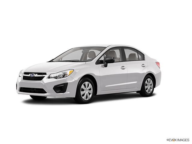2013 Subaru Impreza Sedan At Your Area Tacoma Subaru Dealer