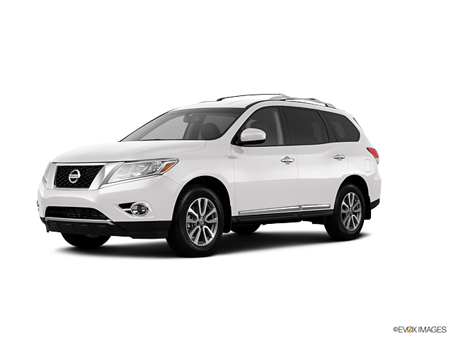 2013 Nissan Pathfinder Sl Suv In Moonlight White Available In West