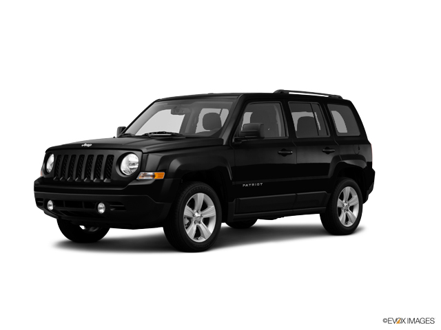 used 2014 black clearcoat jeep patriot 2.0 l for sale - faulkner
