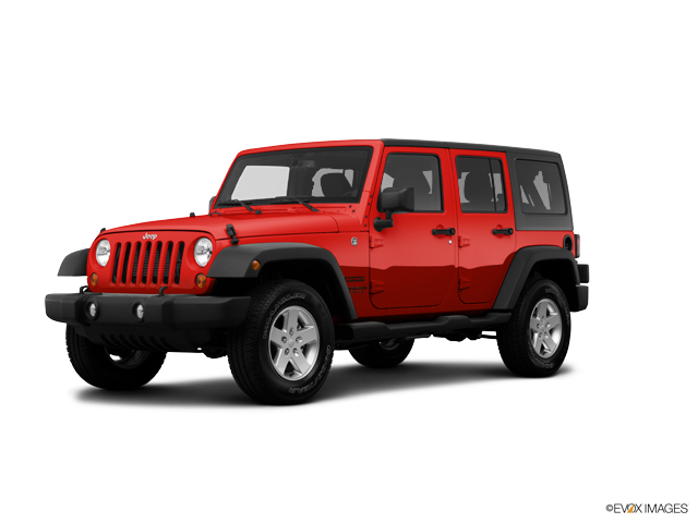 2014 Jeep Wrangler Unlimited Vehicle Photo in Knoxville, TN 37912