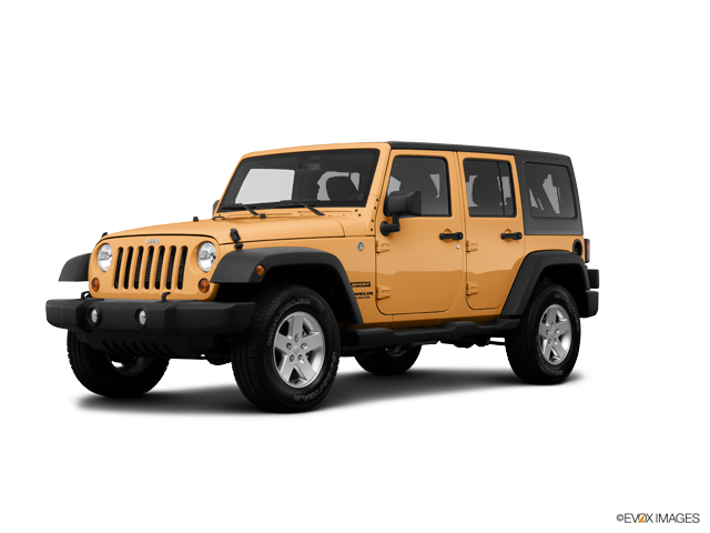 2014 Jeep Wrangler Unlimited Vehicle Photo in Spokane, WA 99207