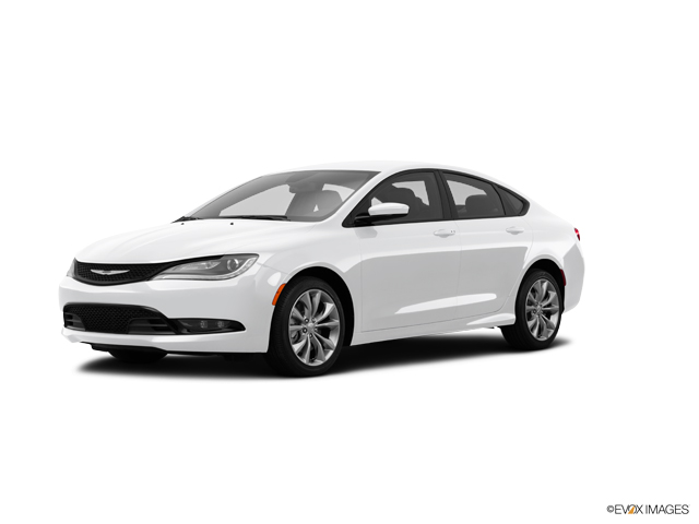 2015 Used Chrysler 200 4dr Sdn S Fwd In White For Sale In Tennessee