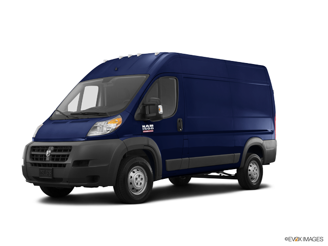 Promaster Cargo Van 1500 Low Roof 118 Wb True Blue Pearlcoat