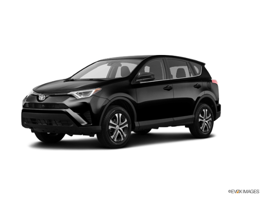 2018 Toyota RAV4 In Black