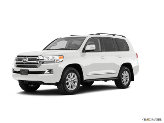 2018 Toyota Land Cruiser In Blizzard Pearl