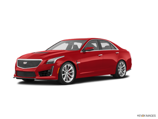 2018 Cadillac CTS V Sedan In Red Obsession Tintcoat