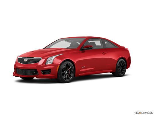 2018 Cadillac ATS V Coupe In Red Obsession Tintcoat