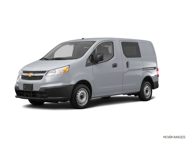 City Express Cargo Van Ls Galvanized Silver