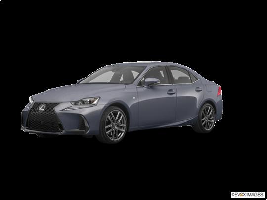 2018 Lexus IS 350 In Nebula Gray Pearl