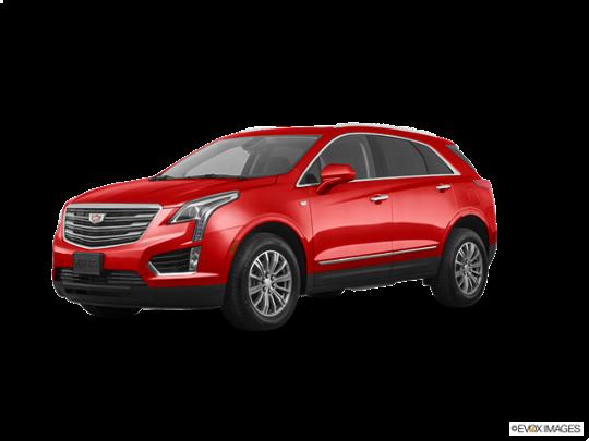 2019 Cadillac XT5 In Red Horizon Tintcoat