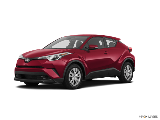 2019 Toyota C HR In Ruby Flare Pearl