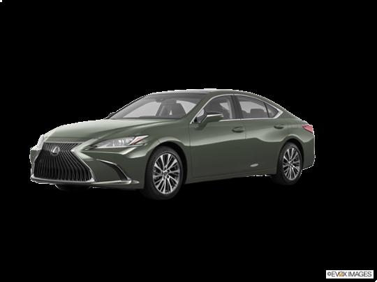 2019 Lexus ES 300h In Sunlit Green