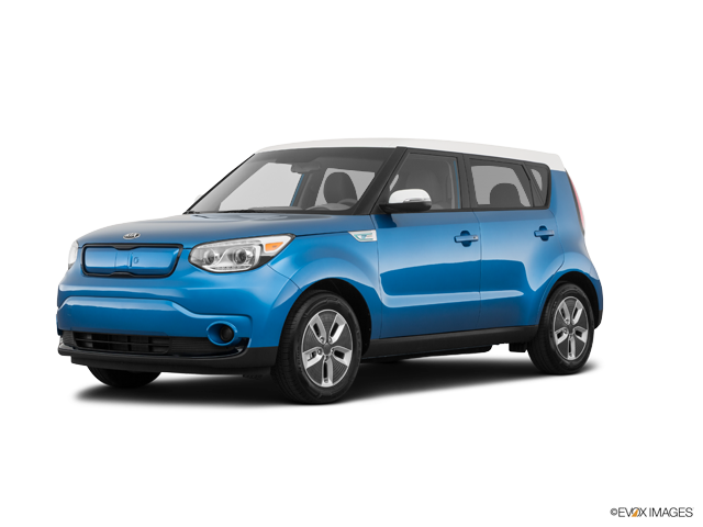 Soul Ev Caribbean Blue W Clear White Roof
