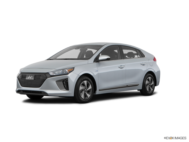 Ioniq Hybrid Blue Symphony Air Silver Metallic
